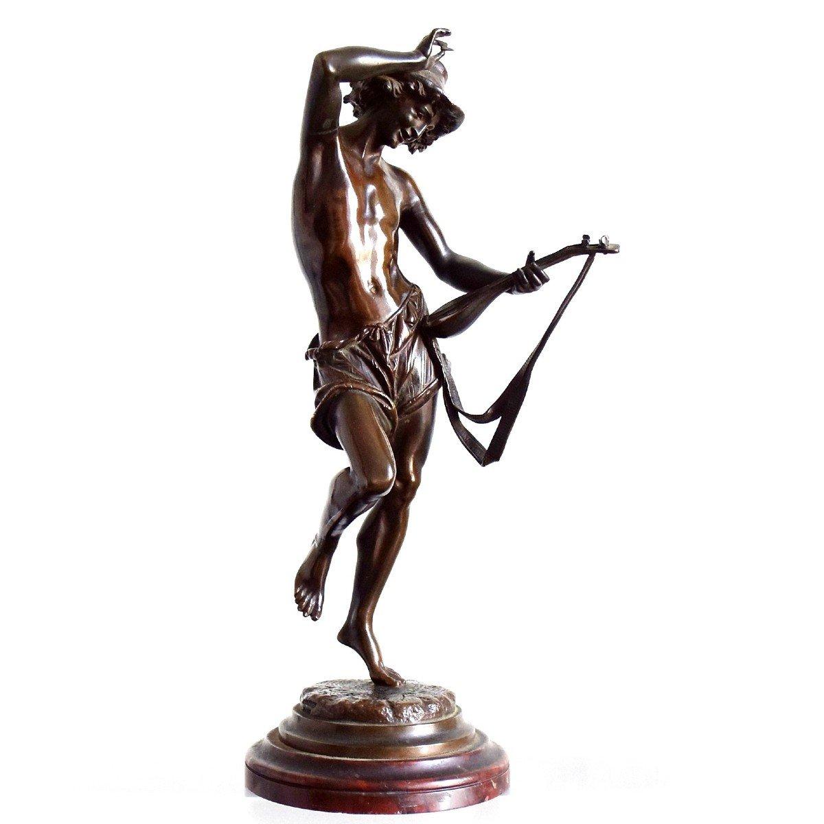 Le musicien florentin Bronze par Carrier-Belleuse
