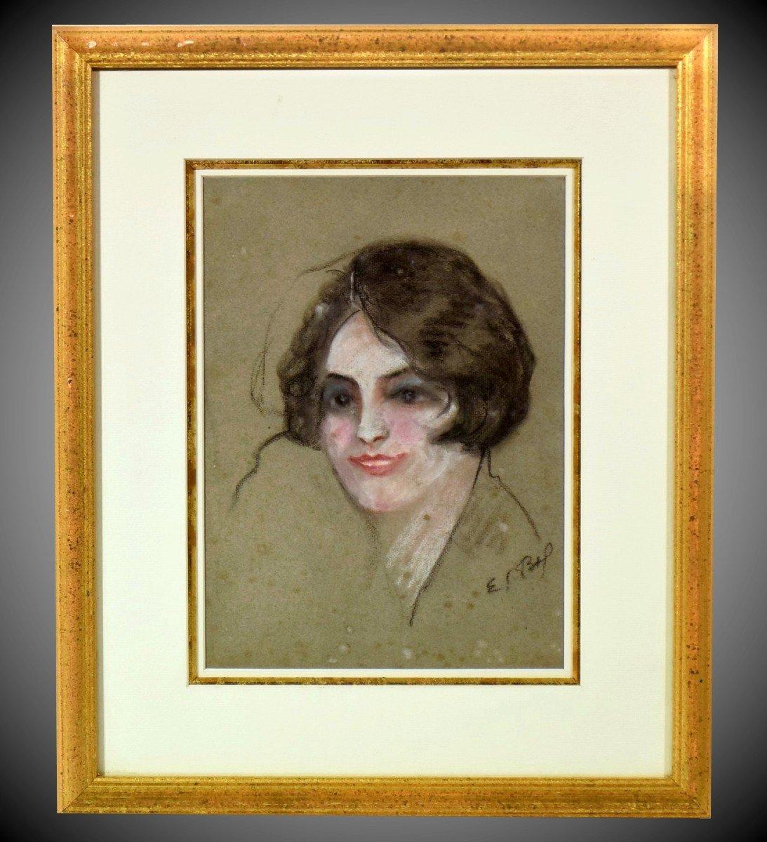 Muse de Montmartre Pastel