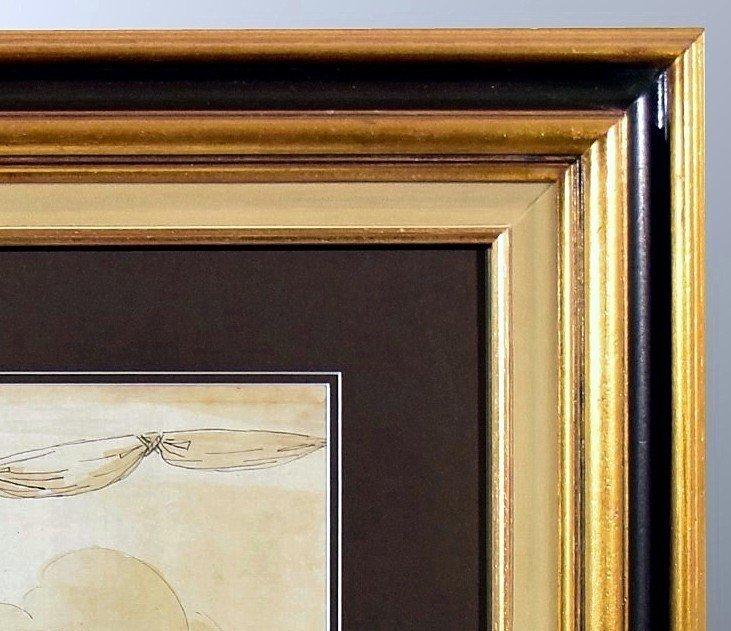 Grand dessin Athena (Minerve) XVIIIème-photo-5