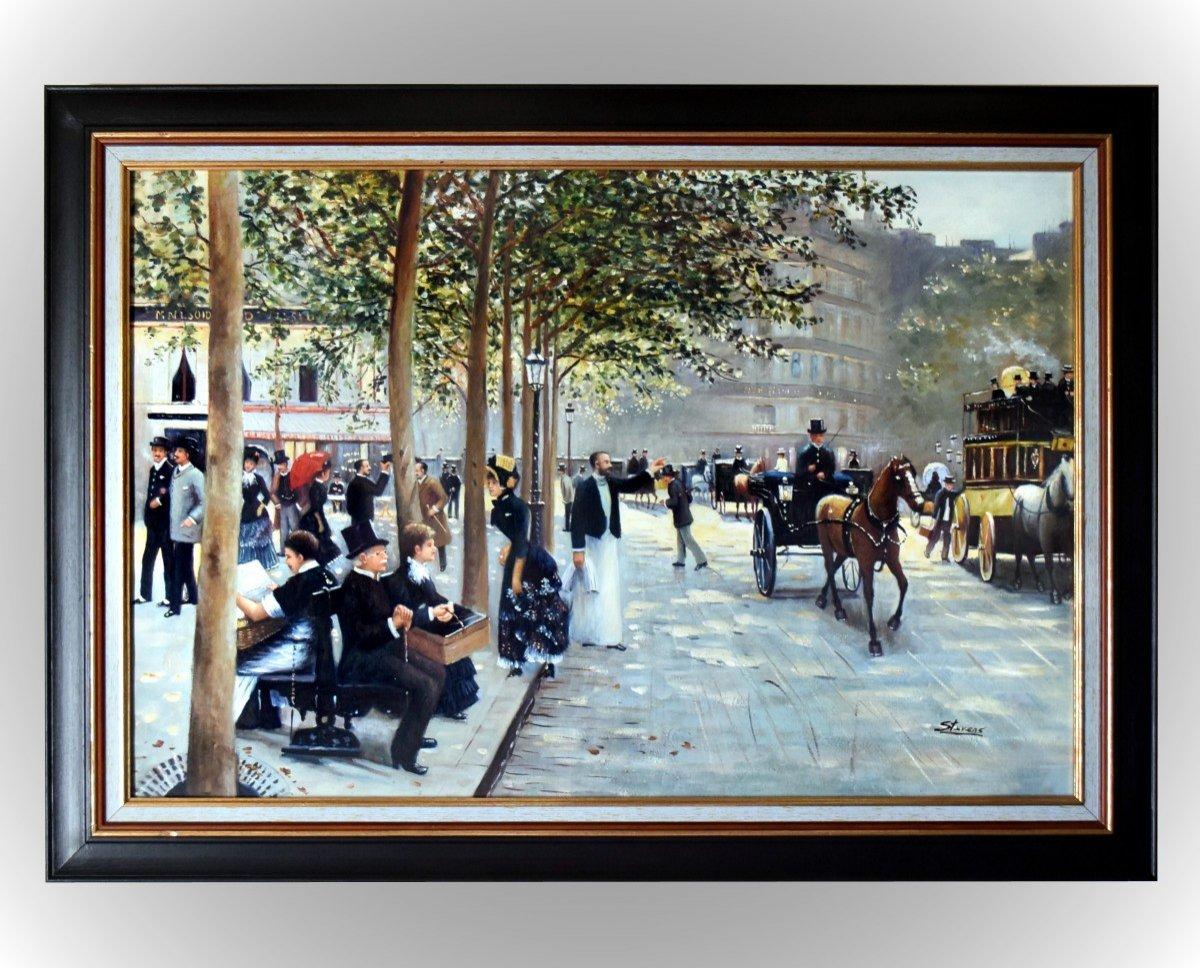 """""""Avenue parisienne"""" par Stevens"""