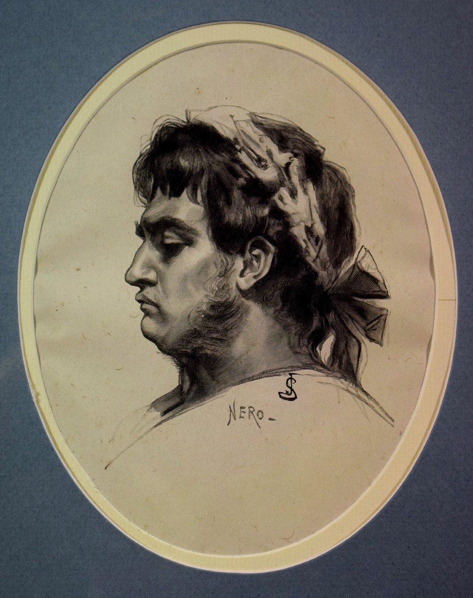 Neuf gravures d'après Jan Styka (1858-1925)-photo-4