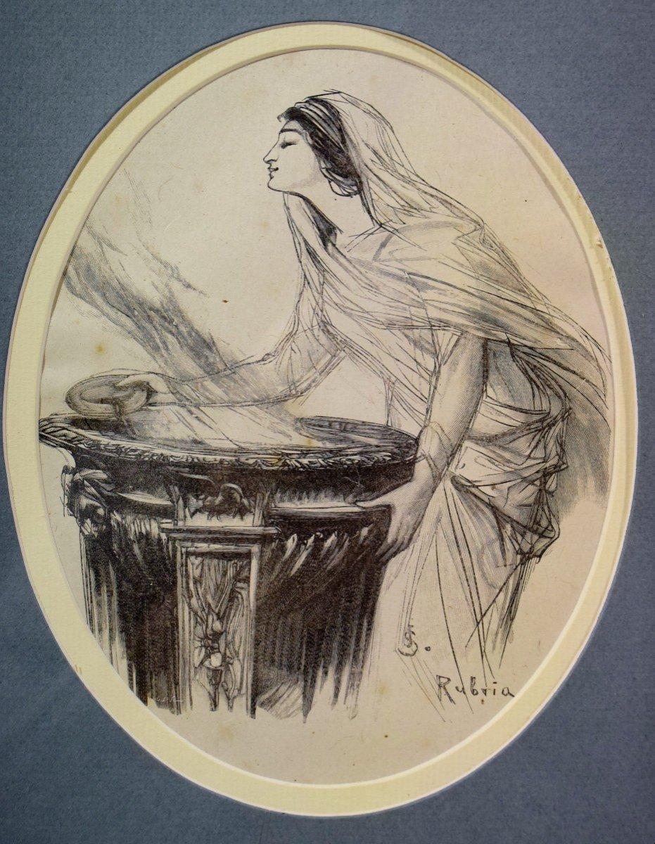 Neuf gravures d'après Jan Styka (1858-1925)-photo-5