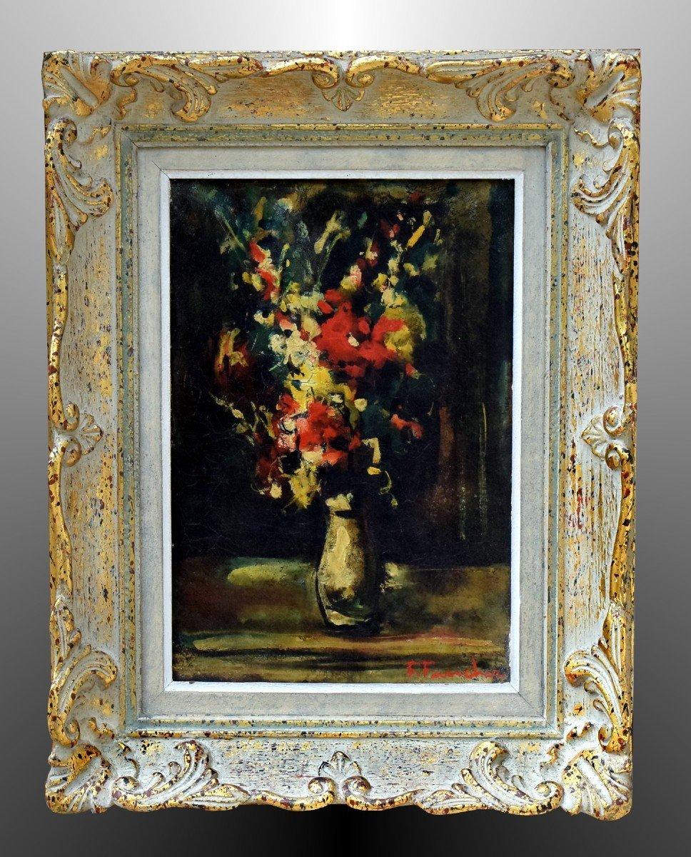 Bouquet de fleurs par François Faucher
