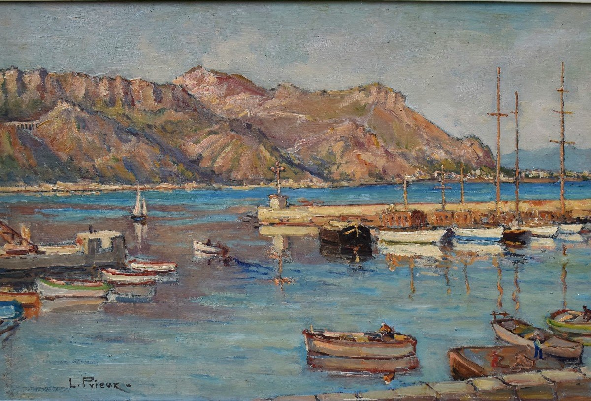 Saint Jean Cap Ferrat par Louis Charles D. Prieur -photo-1