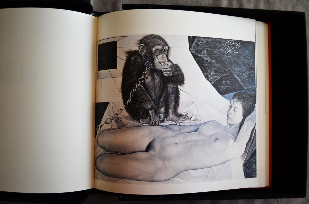Le Livre d'Eros Pierre-yves Tremois Avec Dédicace-photo-5