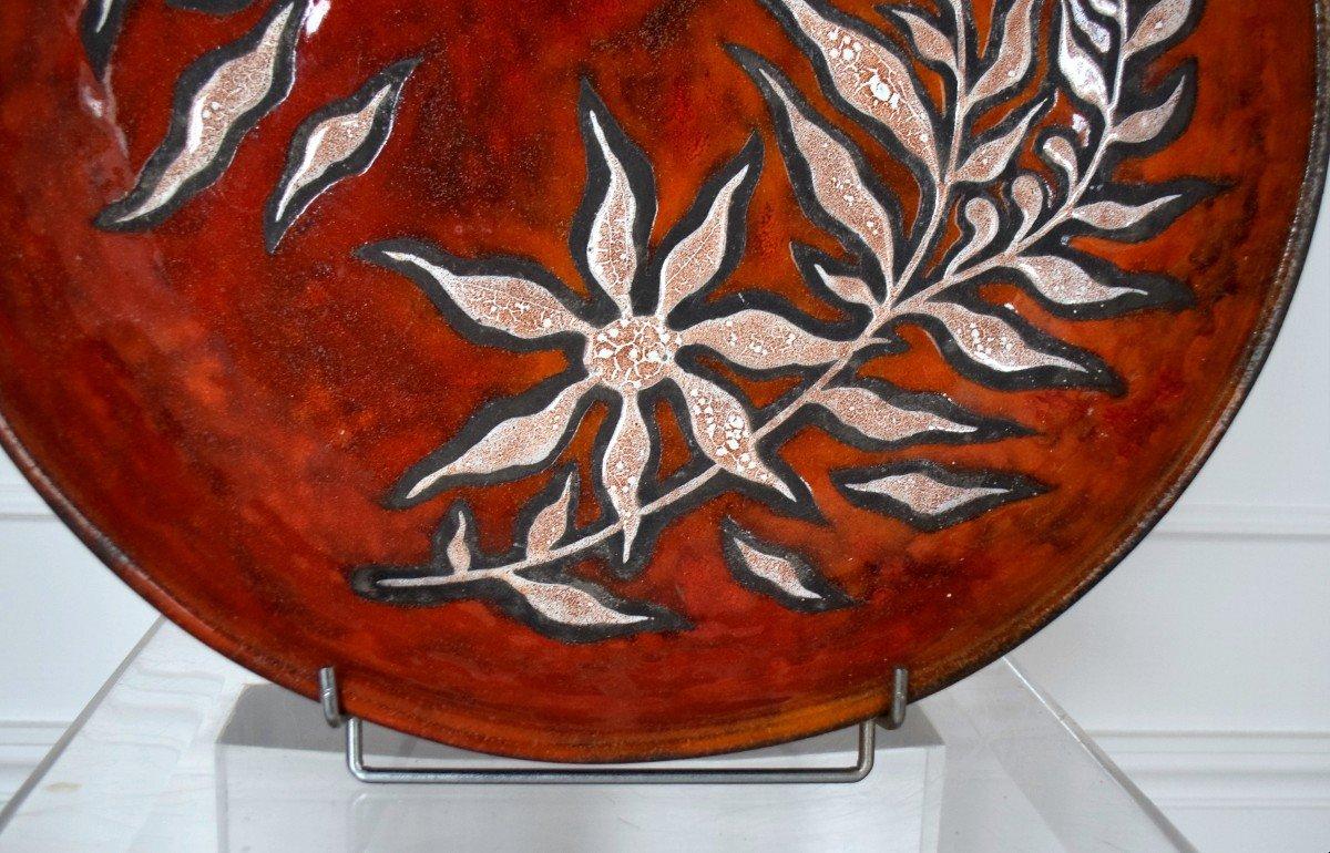 Grand plat céramique Rois de Majorque -photo-2
