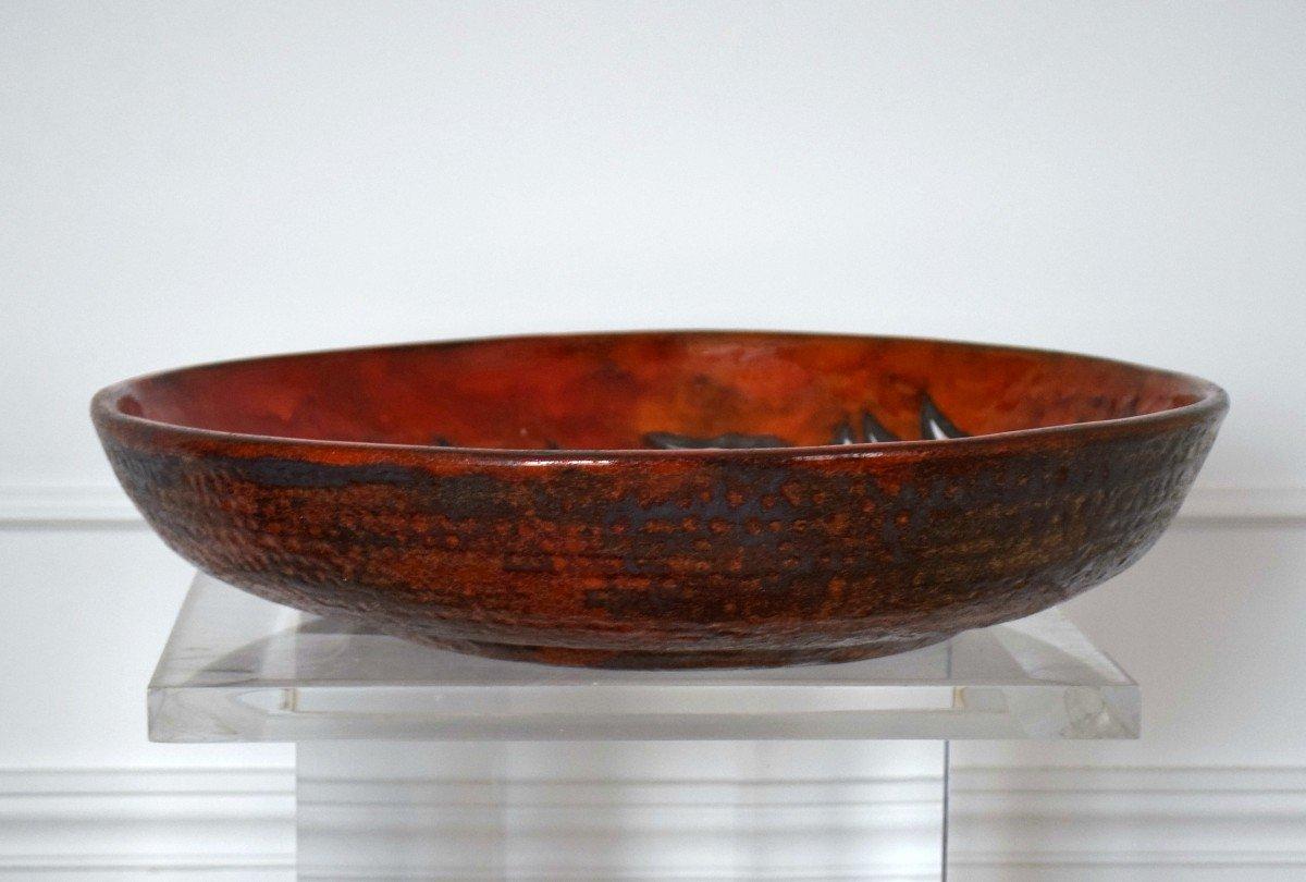 Grand plat céramique Rois de Majorque -photo-4