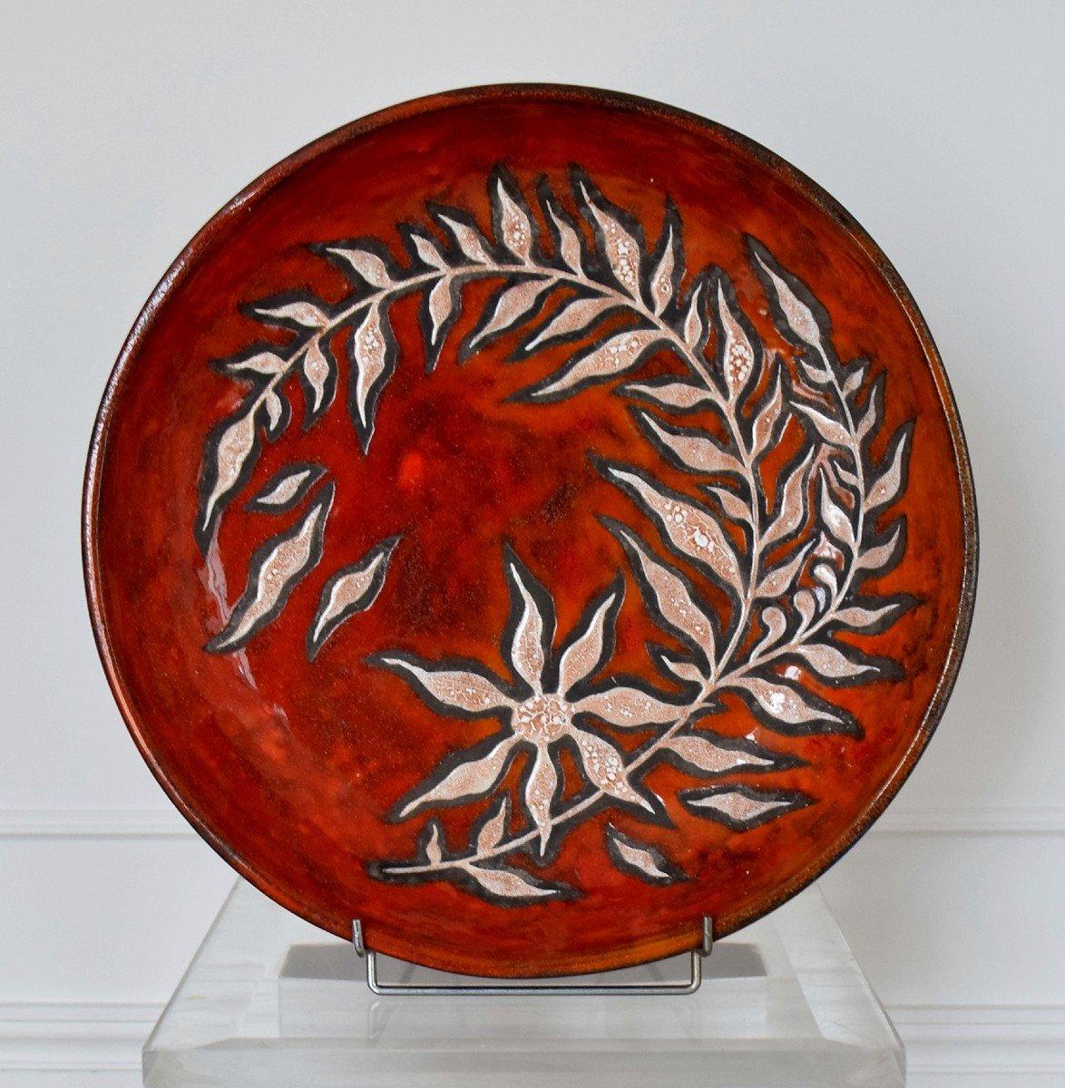 Grand plat céramique Rois de Majorque