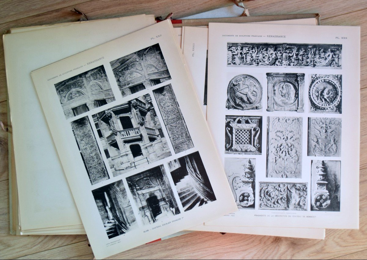 Documents de Sculpture Française Renaissance P.Vitry et G.Brière D.A.Longuet Editeur-photo-4