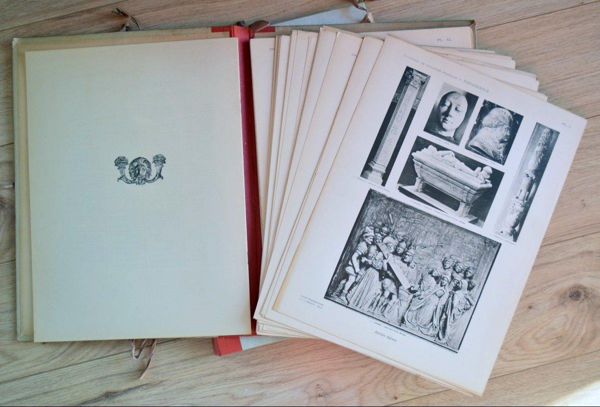 Documents de Sculpture Française Renaissance P.Vitry et G.Brière D.A.Longuet Editeur-photo-2