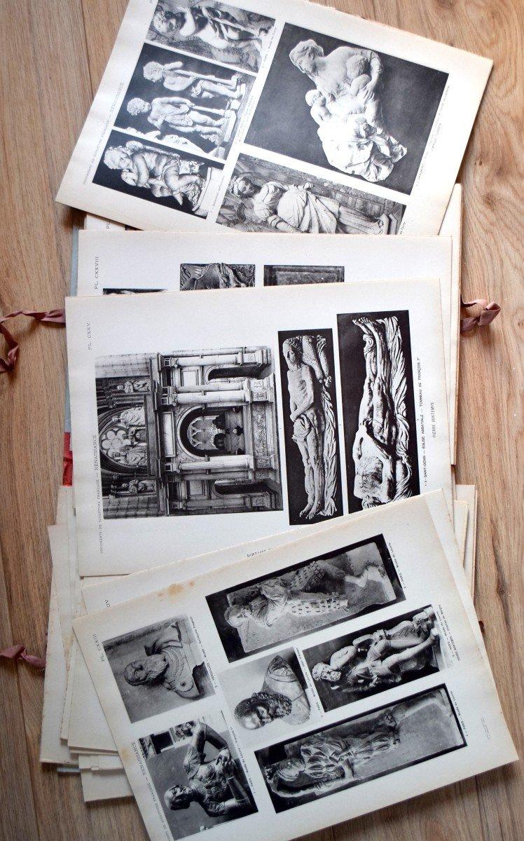 Documents de Sculpture Française Renaissance P.Vitry et G.Brière D.A.Longuet Editeur-photo-5