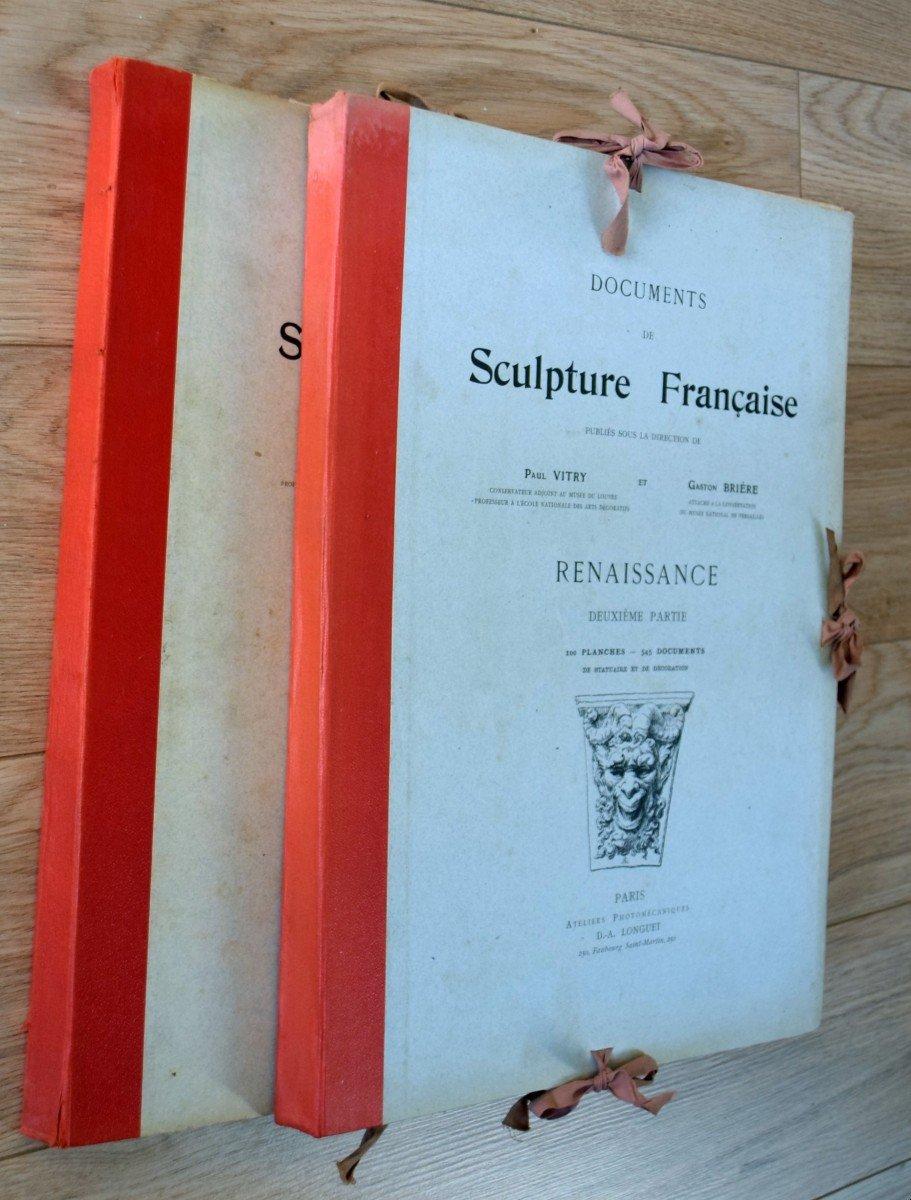 Documents de Sculpture Française Renaissance P.Vitry et G.Brière D.A.Longuet Editeur-photo-6