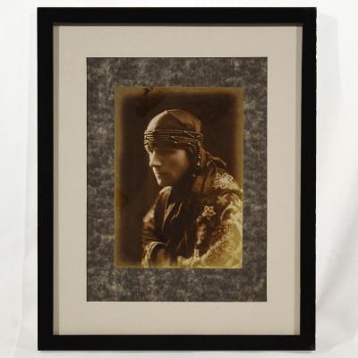 Portrait d'Homme Orientaliste Photo Fin XIXème Début XXème