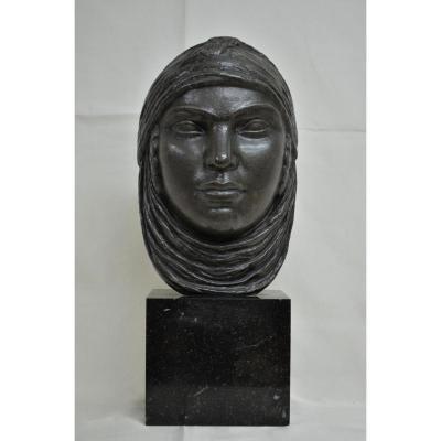 Masque Orientaliste Signé Lucien Gibert