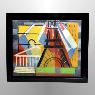 """""""Paris"""" par Georges Vince (1913-1991)"""