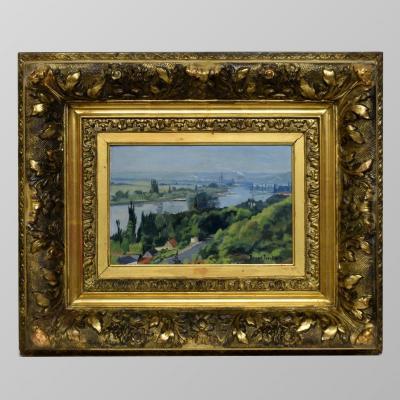 Les méandres de la Seine par Bernard Jourdain