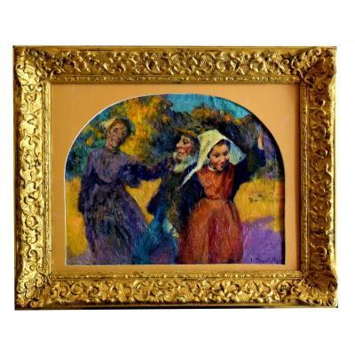 La Danse par Jean Bertrand Pégot-Ogier (1877-1915) Pegot Ogier
