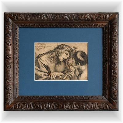 """""""Le Christ moqué"""" 1627 par Sebastiano Vaiani"""