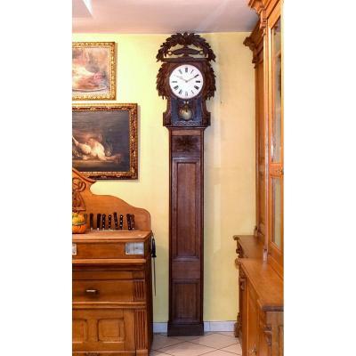 Horloge normande Saint Nicolas signée Labarre à Villy le Bas