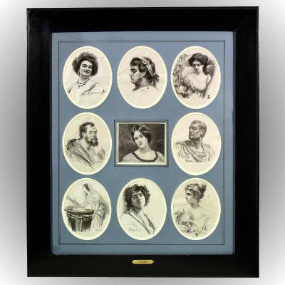 Nine Engravings After Jan Styka (1858-1925)