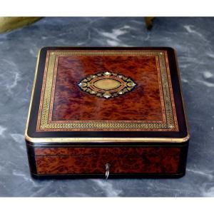 Box Thuya Burl Rosewood Second Empire