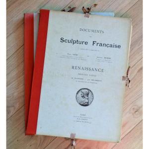 French Renaissance Sculpture Documents P.vitry And G.brière Dalonguet Editor