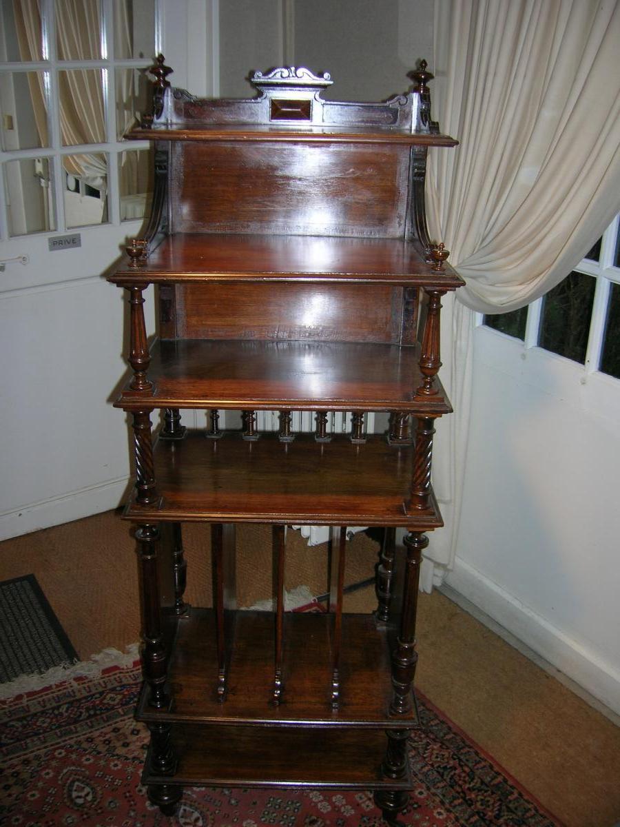 Music Box In Rosewood Napoleon III