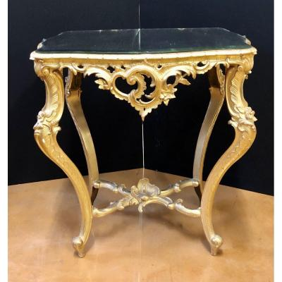 Small Golden Table