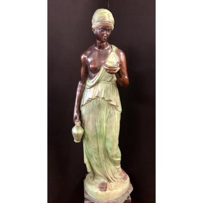 Statue En Bronze Anne 60