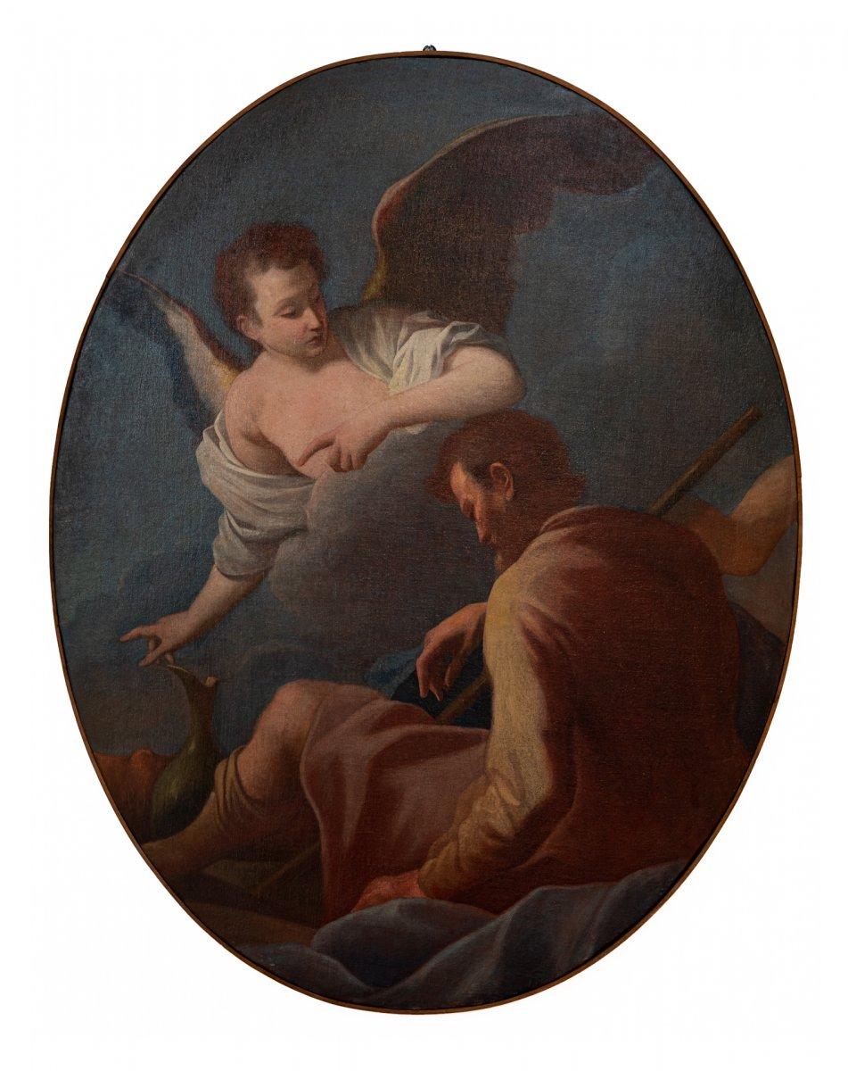 Élie Et l'Ange ( Un De Six Tableaux)