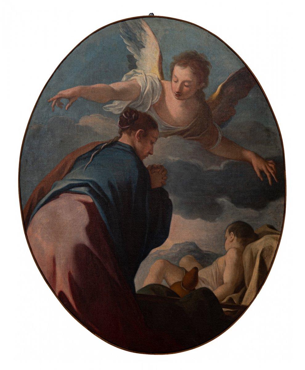 Agar Et l'Ange (un De Six Tableaux)
