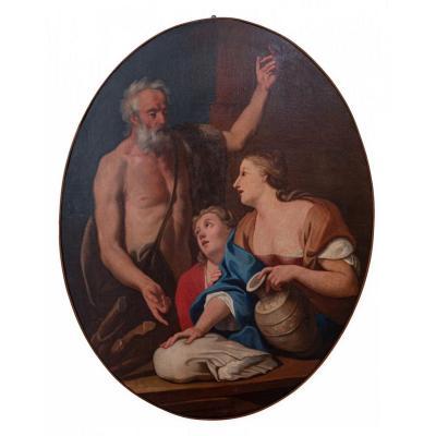Rebecca Au Puits (un De Six Tableaux)
