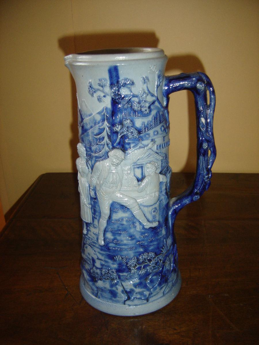 German Or Austrian Mug Probably From 18 Th Century