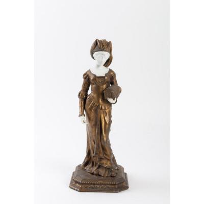 statue de élégante