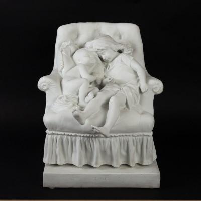 Statue En Biscuit