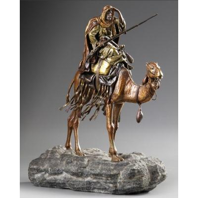 Statue Orientaliste Franz Bergmann