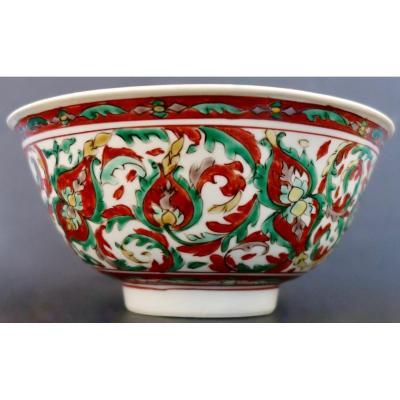 Bol à Décor De Lotus En émaux De La Famille Verte, Période Kangxi (1662-1722)