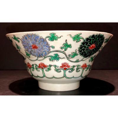 Bol à Décor De Lotus En Famille Verte, Règne De Kangxi (1662-1722)