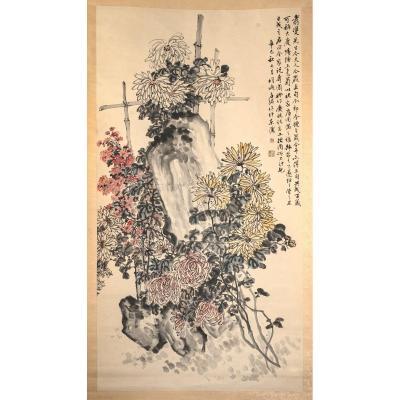 Chrysanthèmes, Fang Ming ((1881-1940)