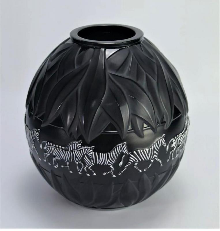 Marie Claude Lalique Vase -photo-3