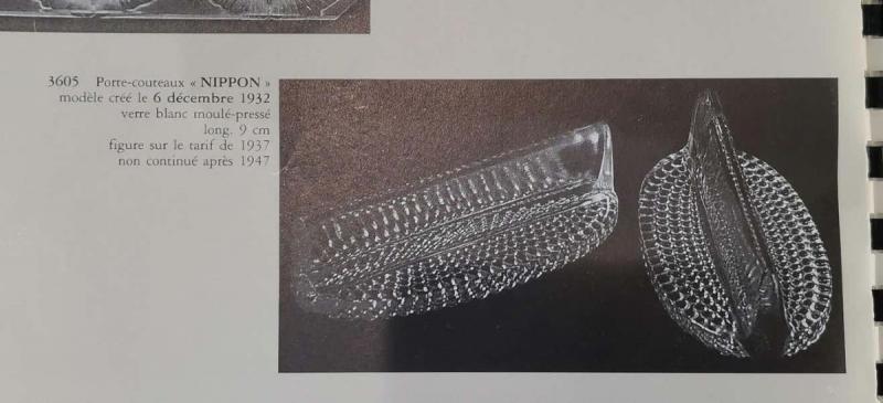 Lalique 12 Knife Holder Model-photo-4