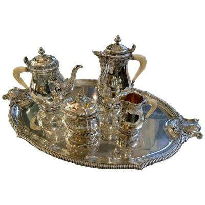 Regency Silver Tea And Coffee Service
