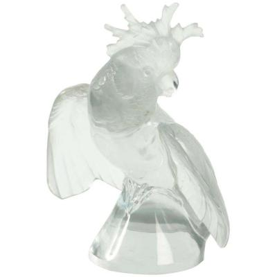 "Lalique France Cacatoes ""Ailes Déployées"""