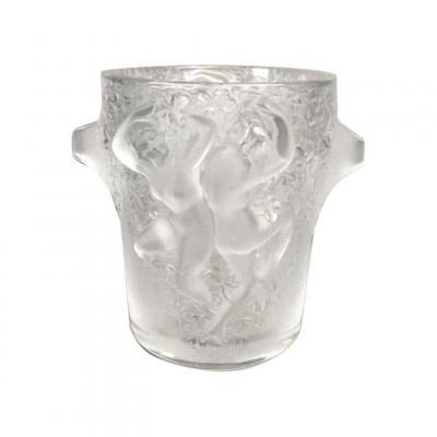 """Seau à Glace Lalique """"Ganymède"""""""