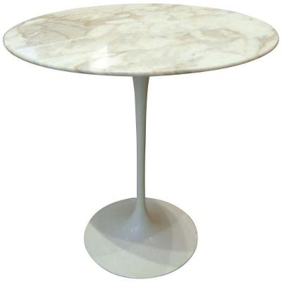 Eero Saarinen & Knoll, Table Guéridon Marbre