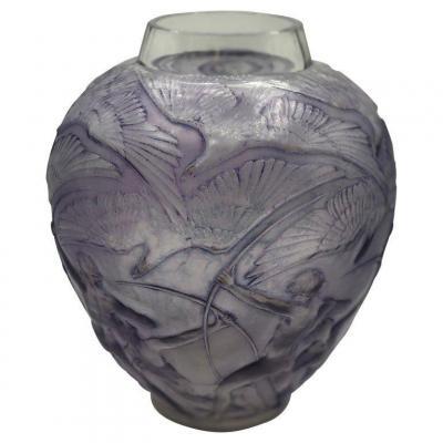 Vase Archer Lalique