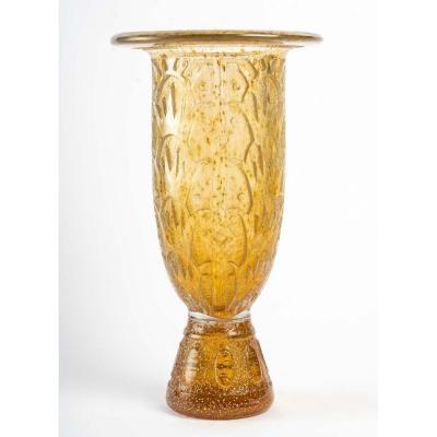 1930 Daum Large Vase
