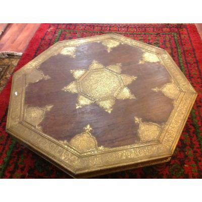 Grande Table Basse Indienne
