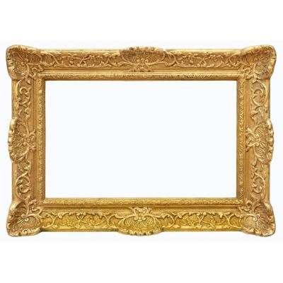 Louis XIV Style Golden Frame - Ref 854