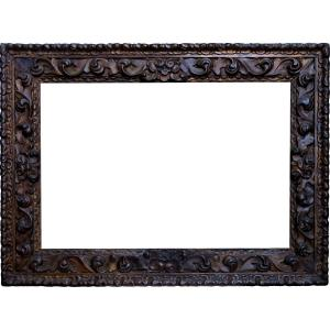Carved Wood Frame 79.5 X 55.5 Ref. 856